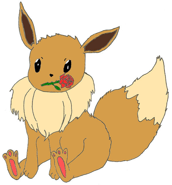 A Rose for Eevee