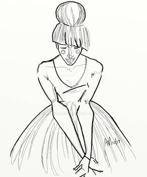 The Dancer by Anna Maria Garza of WWW.REHCY.COM
