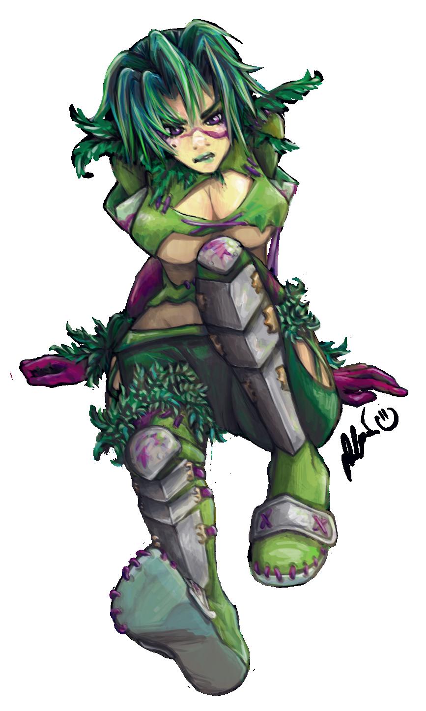 Ring Blade Character Soul Caliber
