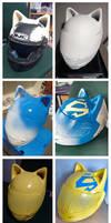 Celty helmet process