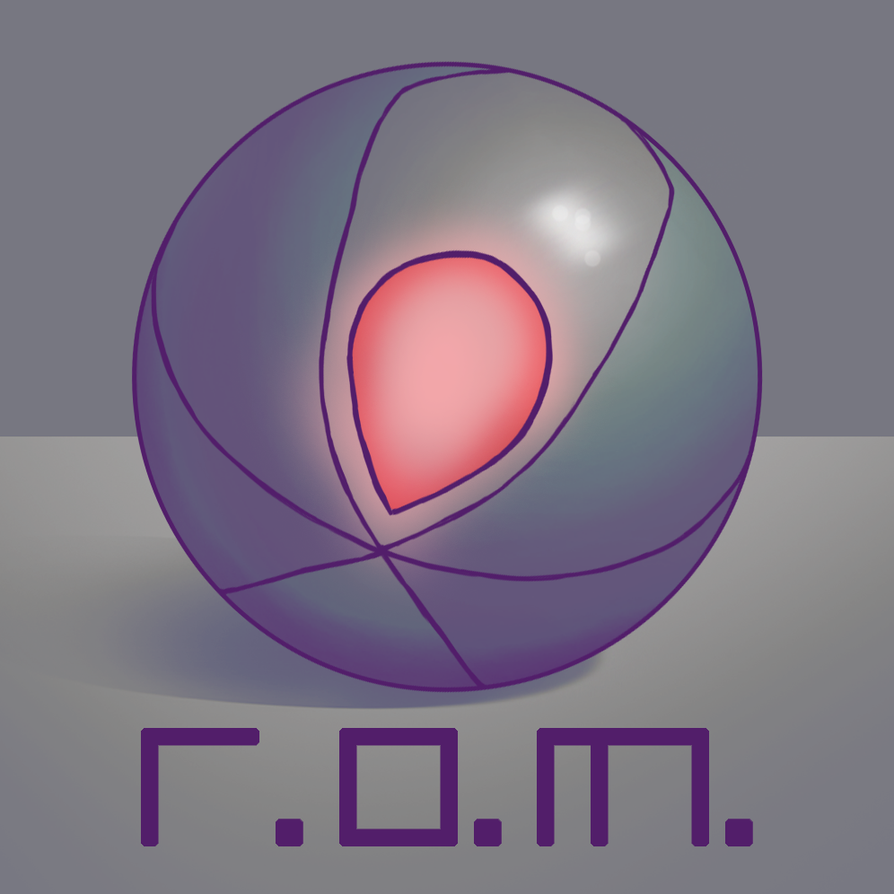 ROM logo2 by FlyingRabbitMonkey