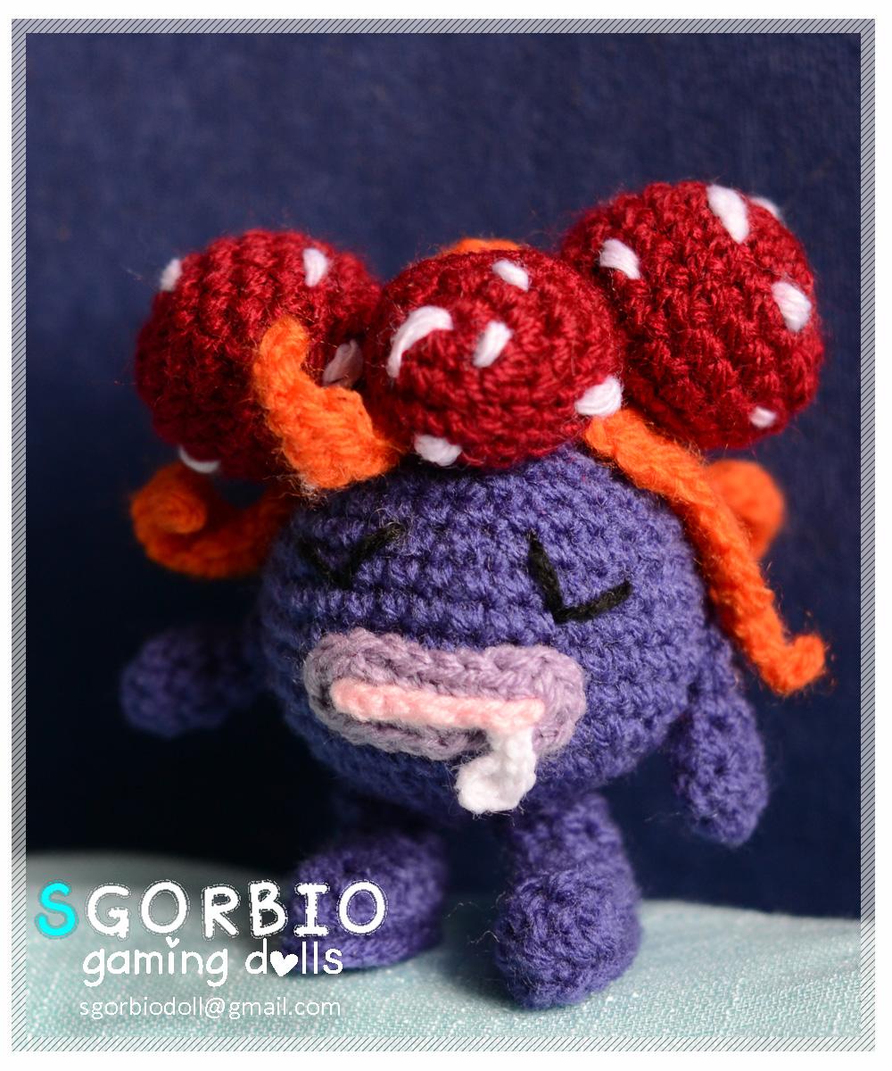 Pokemon Crochet: Bulbasaur by kerryroulston on DeviantArt | 1200x1000