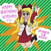 HBD Kyouko!