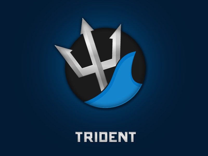 Trident Gaming Logo by ohmyBrooKe on DeviantArt