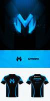 Myksta Logo and Jersey