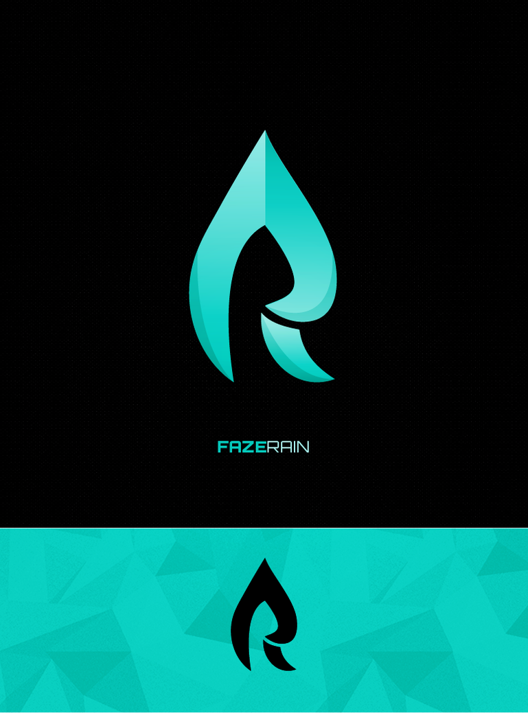 Faze Rain Logo by ohmyBrooKe on DeviantArt