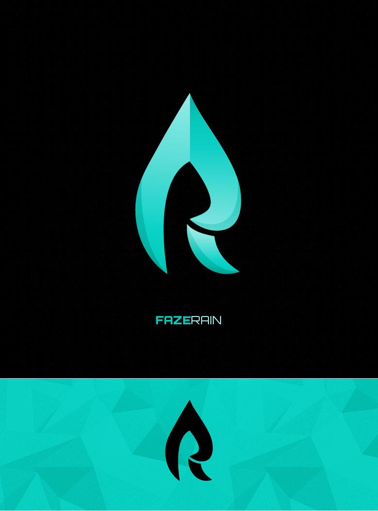 faze rain logo by ohmybrooke on deviantart