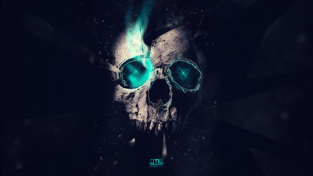Skull Manipulation Wallpaper by ohmyBrooKe