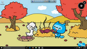 OO-Kun and Friends Desktop Screenshot #1