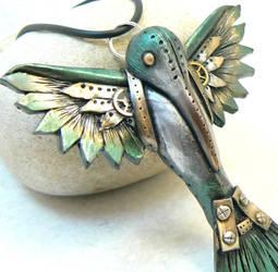 steampunk humming bird by DesertRubble