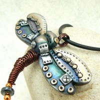 Steampunk Dragonfly 15 by DesertRubble