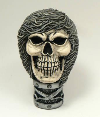 A hairy skull