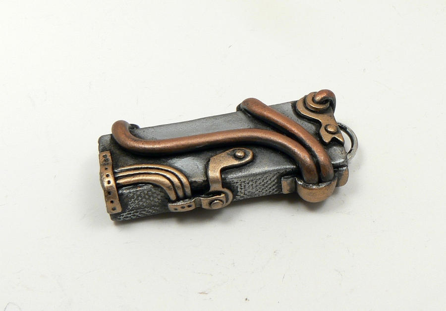 Steampunk USB skin by DesertRubble