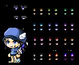 [Maplestory Female Eyes 5] Custom Eyes by Kynchi