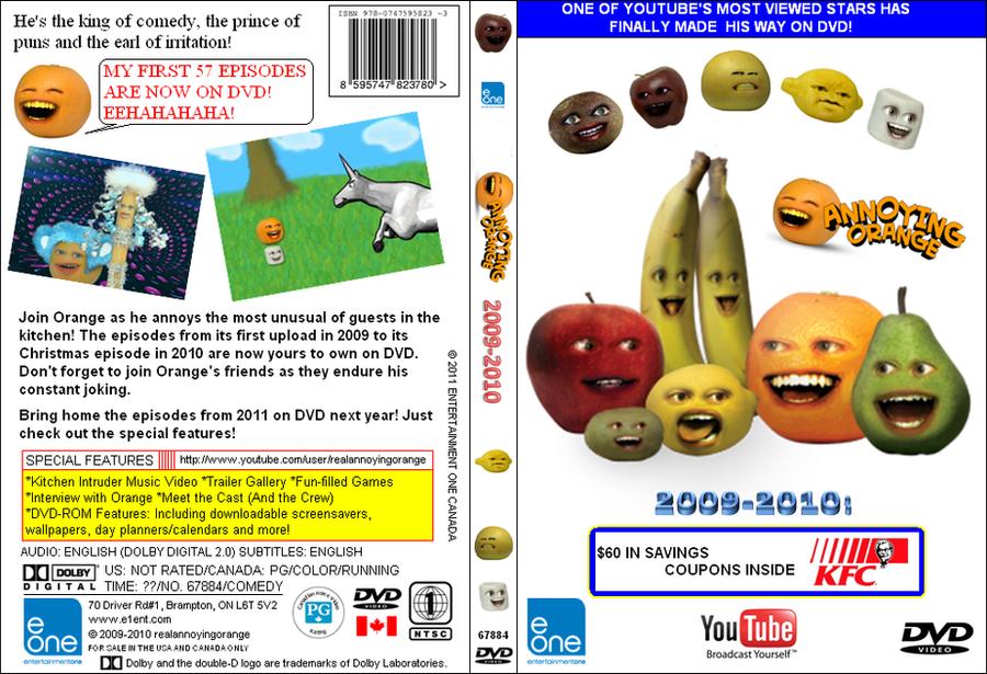 Annoying Orange Dvd Cover Art By Goldcrockpot23 On Deviantart