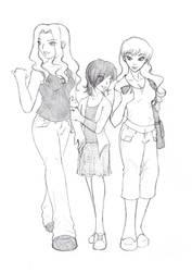 TGWTG- Iron Liz, MG, Scarlett by rainbowpunk10