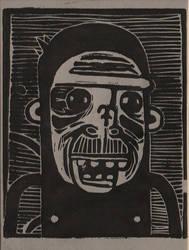 Self Portrait as a Chimp by peenwen