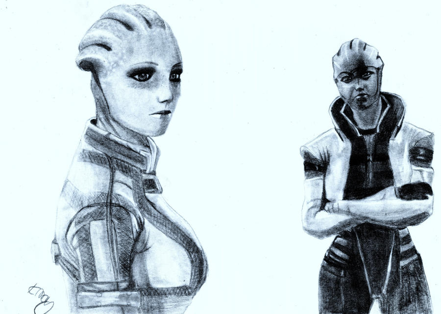 Liara and Arie by Amycah