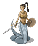 Naga Warrior Princess