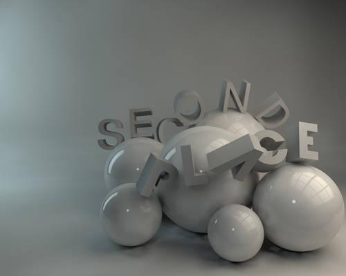 Second Place 3D wallpaper 1