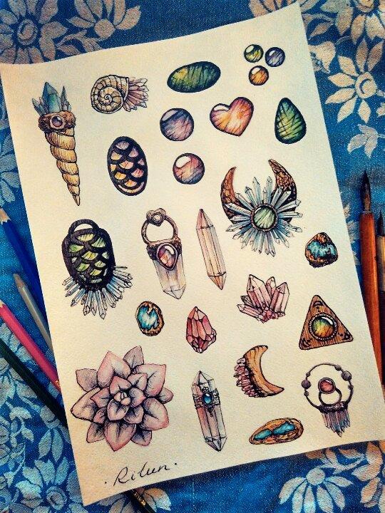 Crystals by Rilun
