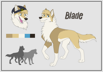 Blade Reference Sheet: Commission by DuskWolf713
