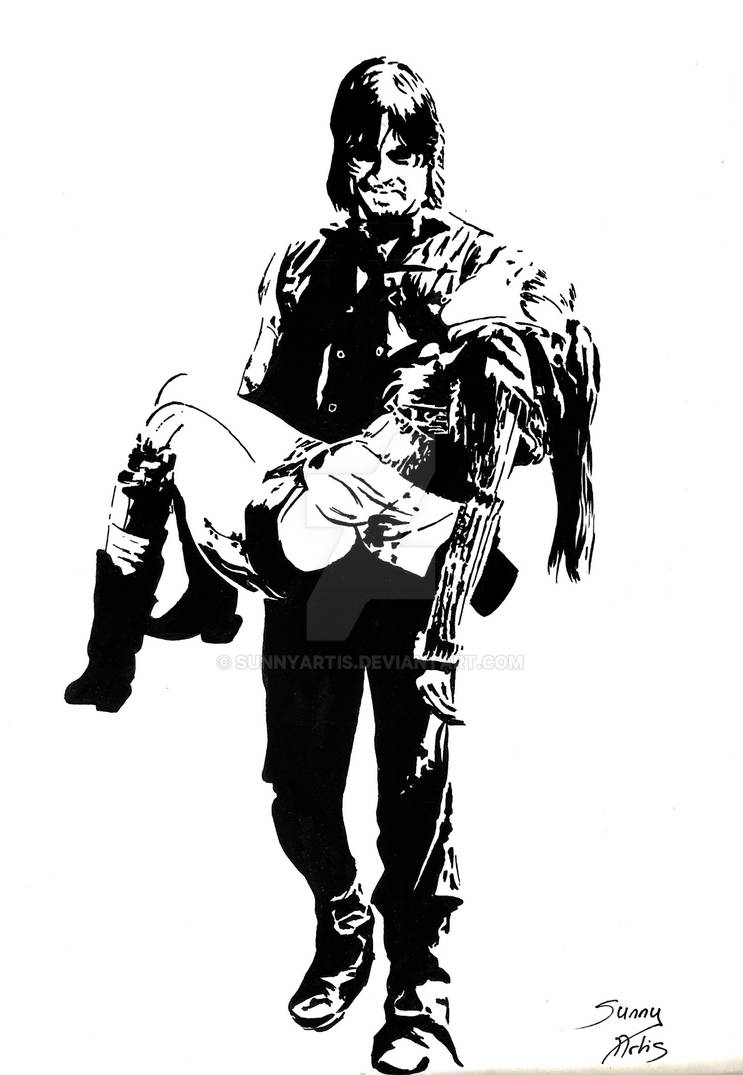 Daryl and beth by SunnyArtis