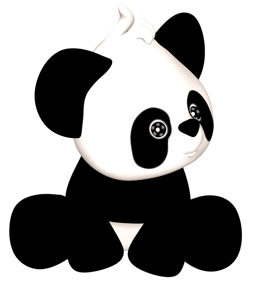 PNG Panda by SASGraphics - PNG K��esi