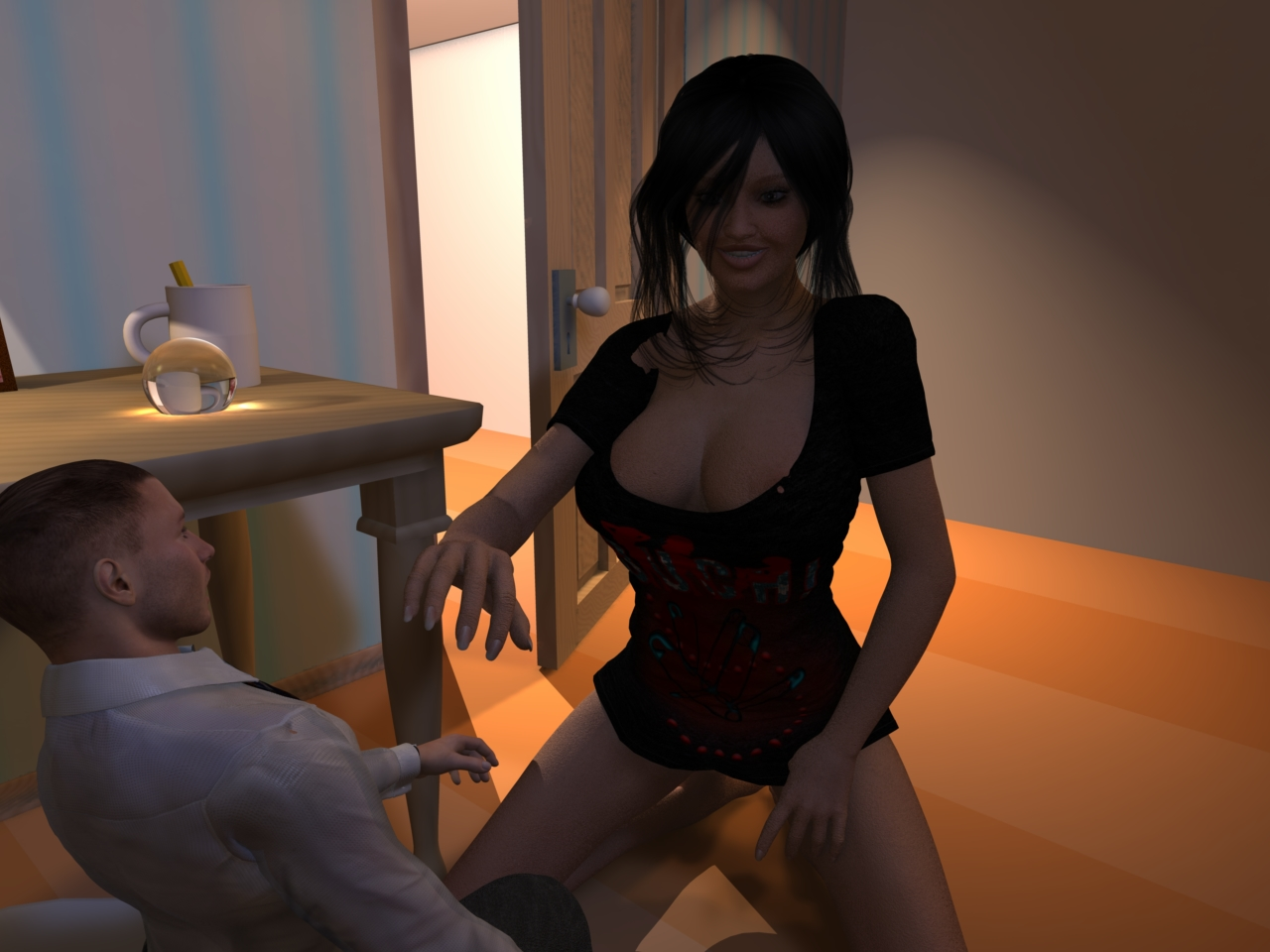Giantess woman 3d pornos movie