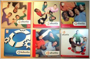 Ubuntu Cds 5.10 to 8.04 by PrimoTurbo