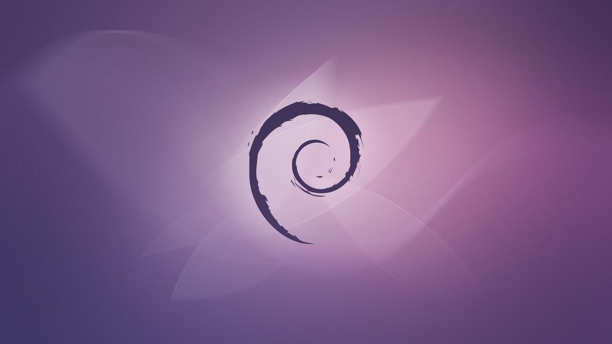 Debian Violet Fluid by PrimoTurbo