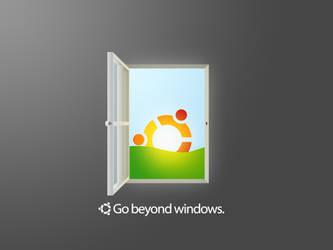 Ubuntu - Go beyond windows