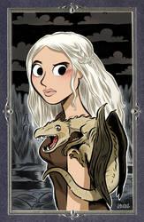 Daenerys Targaryen. by bloglaurel