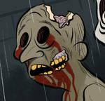 Zombie. by bloglaurel
