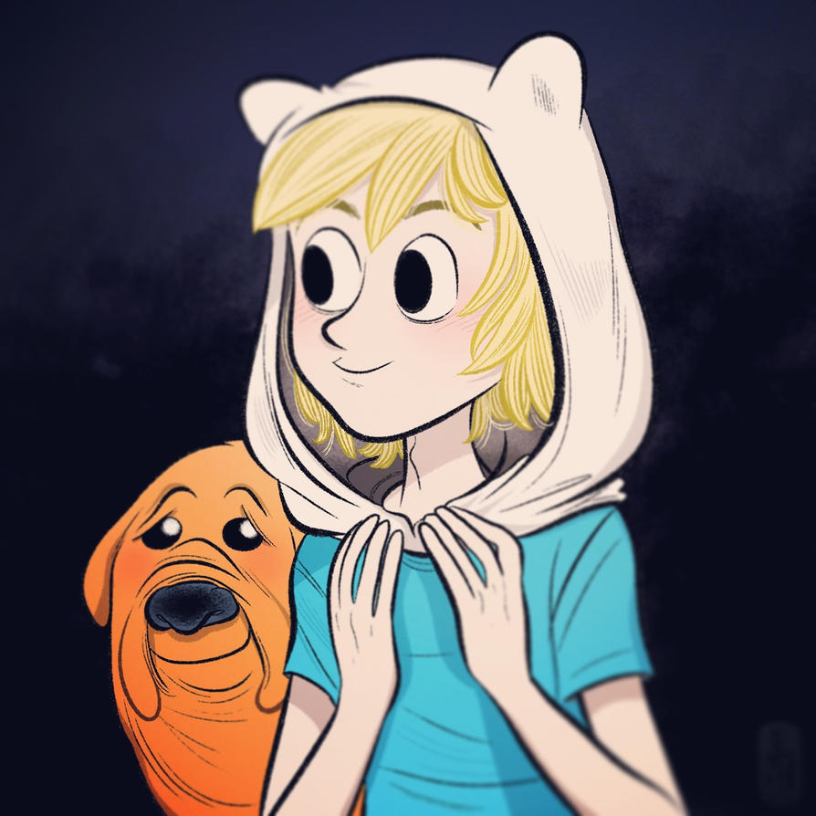 Finn and Jake. by bloglaurel
