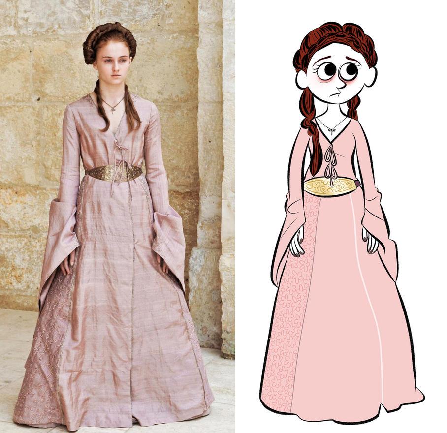 Sansa. by bloglaurel