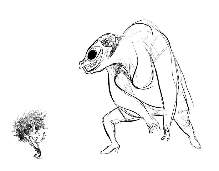 Sketch. by bloglaurel