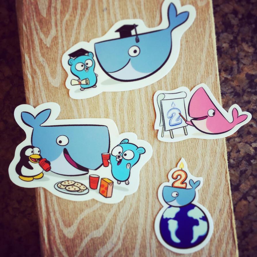 Stickers Docker by bloglaurel