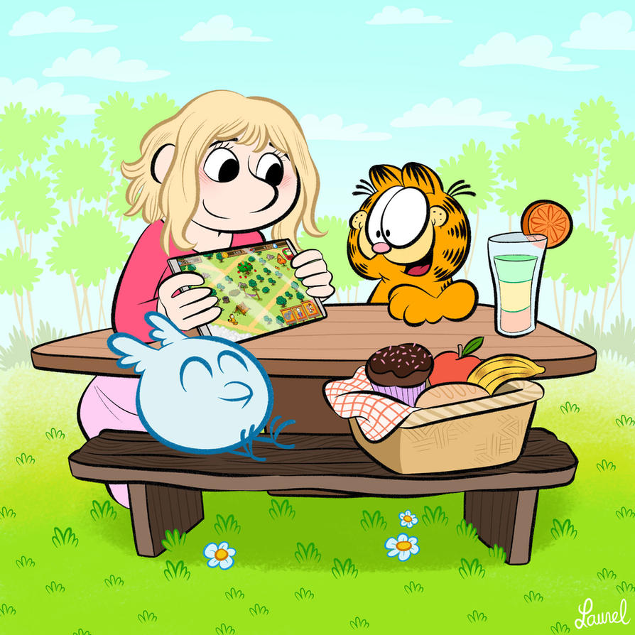 Garfield game (Pixowl studio) on the Appstore! by bloglaurel