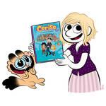 My new comic book Cerise. by bloglaurel