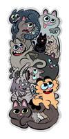 Cats by bloglaurel