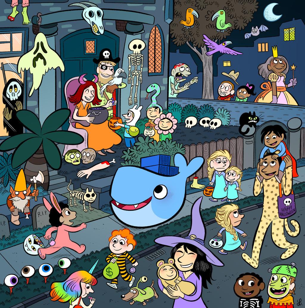 Halloween with Docker by bloglaurel