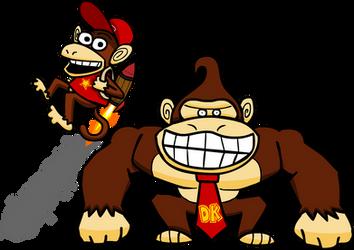 Donkey Kong by Nieek