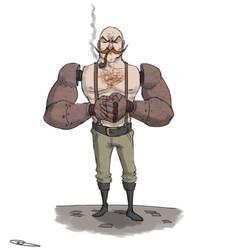 Rusty Arms by Nieek