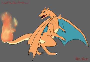 Charizard, I choose you! by meant4theflies