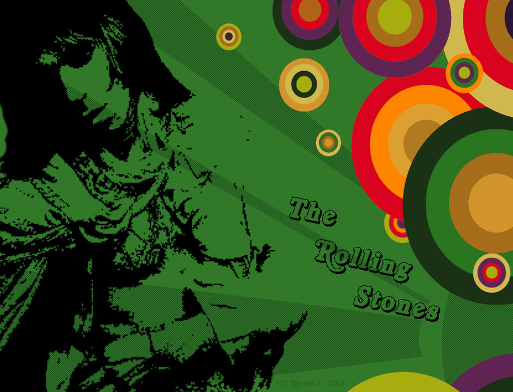 Rolling Stones Wallpaper: 002 by Pancakenotforyou