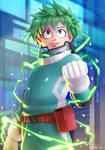 Midoriya Izuku from My Hero Academia