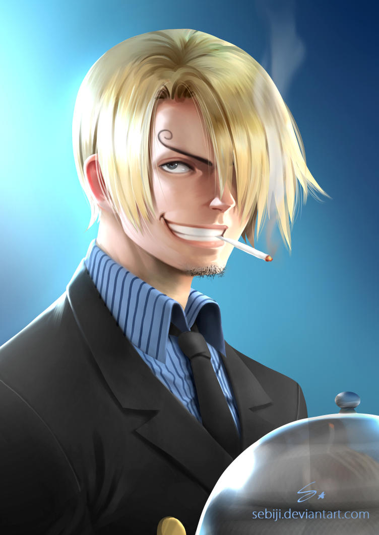 Sanji ( One Piece ) by Sebiji