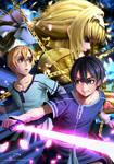 Sword Art Online Alicization by Sebijy