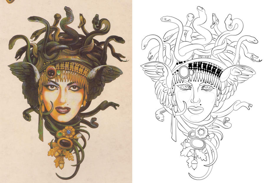 Traditional Tattoo Line Drawing : Free drawing tattoo at getdrawings for personal use